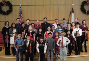 Group picture after the December 15th, 2012 recital